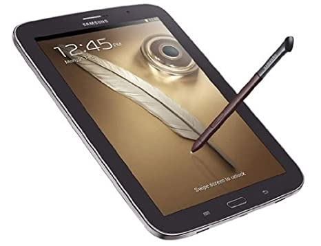 """Samsung Note 8Tablette Tactile 8"""" Quad Core 1,6 GHz 16 Go Android Jelly Bean 4.1.2 Wi-Fi Marron/Noir"""