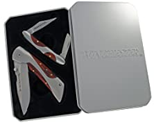 buy Winchester 31-001480 Liner Lock Pocket Folding Knife And 2 Blade Stockman Knife, 2-Piece Set