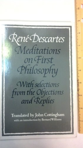 an analysis of the first philosophy of rene descartes Rene descartes descartes was a french philosopher, mathematician and scientist born in 1596 in la haye, france he is best known for his philosophical text meditations on first philosophy where he seeks to doubt everything he has ever learned.