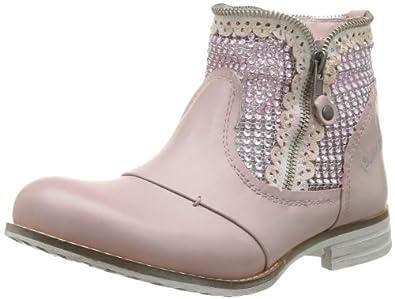 Bunker Cir, Boots femme - Rose (G Malva), 41 EU
