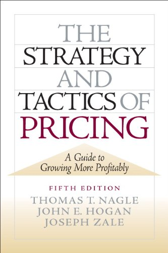 Strategy and Tactics of Pricing, The (2-downloads)