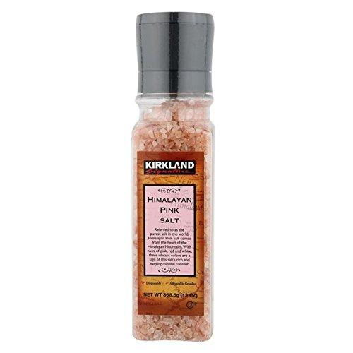 Kirkland Signature Himalayan Pink Salt, 13 Ounce (Pack of 2 ) (Kirkland Salt compare prices)