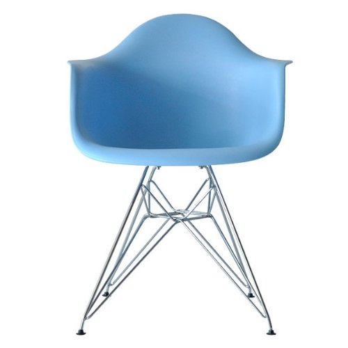Charles Eames Eiffel Inspired Blue DAR Side Dining Chair