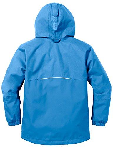Jack Wolfskin Jungen Regenjacke Iceland, brilliant blue, 140 -