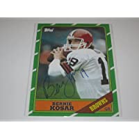 Bernie Kosar, Cleveland Browns Signed Signed 8x10 Photo with Certificate of Authenticity