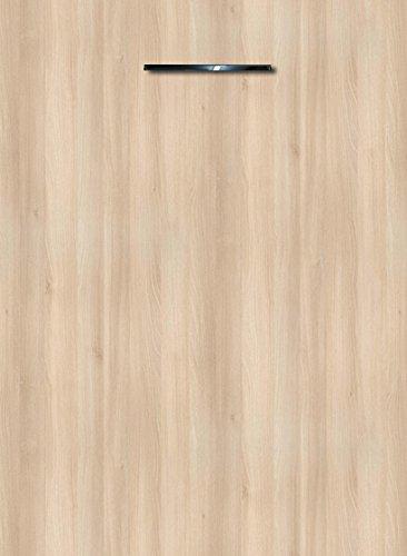 Küchenschrank Unterschrank Front für Geschirrspüler FE (Breite 45cm-vollintegriert, 13 Lakeland Akazie hell)