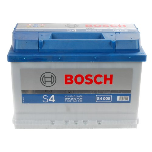 bosch s4 autobatterie s4 008 12v 74ah preisvergleich shops tests 4047023479594. Black Bedroom Furniture Sets. Home Design Ideas