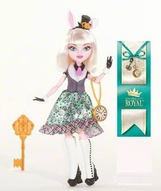 Ever After High Bunny Blanc Doll mattel ever after high dvj20 отважные принцессы холли о хэир