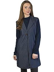 Bonhomie Women Jackets [BCQSO01_Blue Stone_Medium]