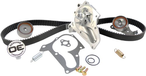 ACDelco TCKWP199 Professional Timing Belt and Water Pump Kit with Tensioner, Idler Pulley, and 2 Springs