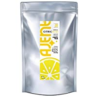 Ajent Citric Acid 100% Pure Food Grade Non-GMO (Approved for Organic Foods) 1 Pound from Ajent