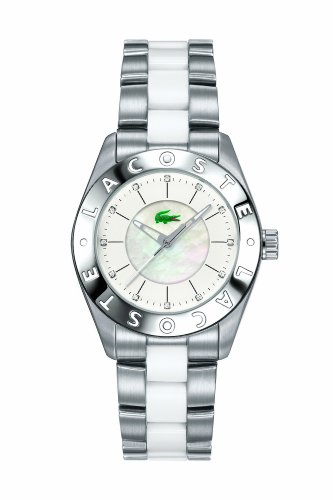 Women's Biarritz Crystal Stainless Steel/White