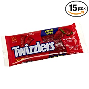 Twizzlers Twists, Strawberry, 5-Ounce Packages (Pack of 15) at Sears.com