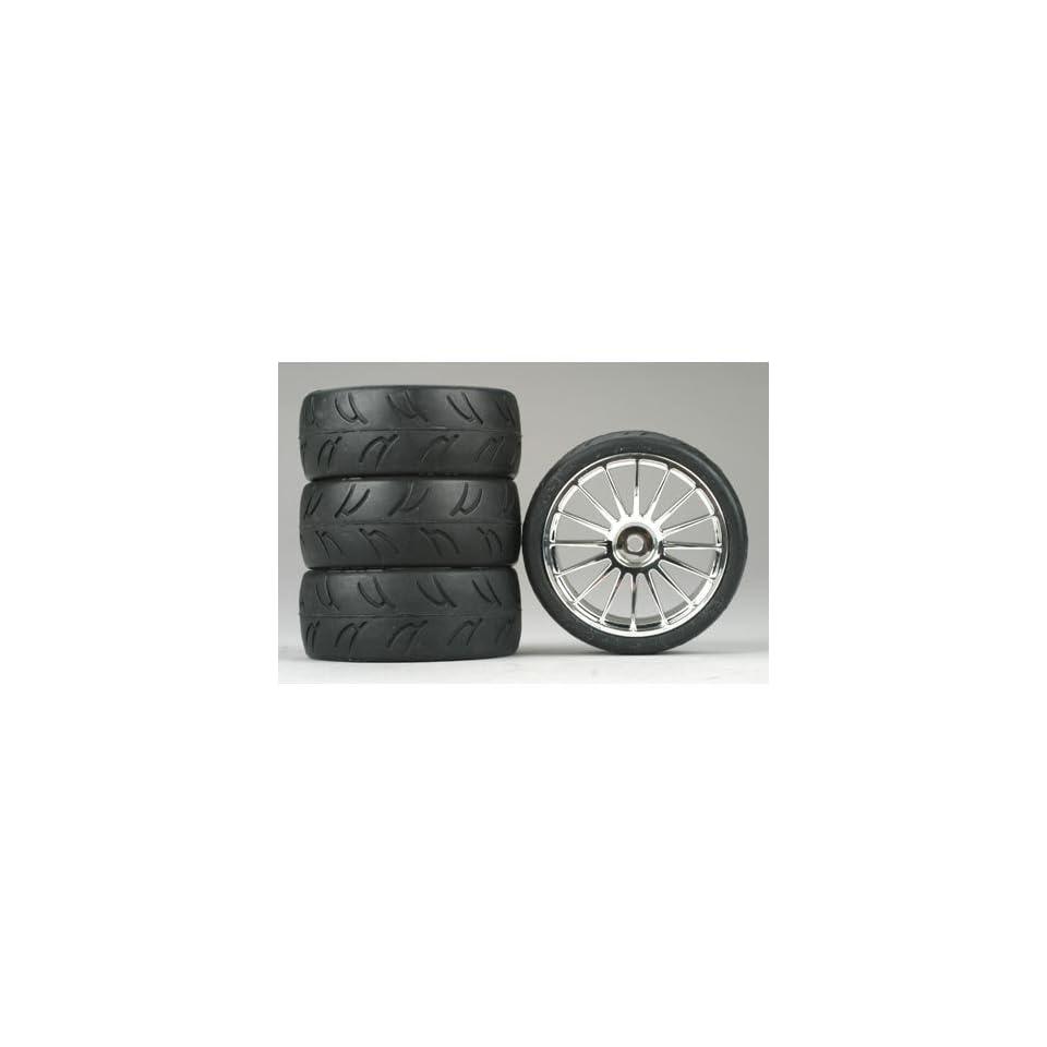 Dynamite 16 Spoke Chrome Wheel, U Groove (4)