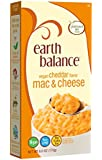 Earth Balance Vegan Cheddar Mac and Cheese, 6 Ounce, (Pack of 12)