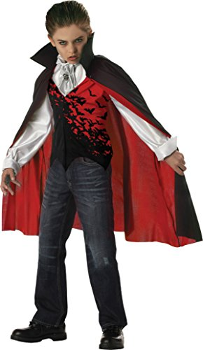 Boys Prince Of Darkness Kids Child Fancy Dress Party Halloween Costume