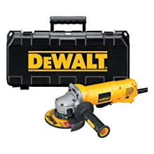 DEWALT D28402K 4-1/2-Inch Small-Angle Grinder Kit