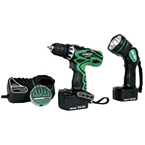 Hitachi DS14DVF3 14.4v Cordless Drill