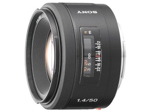 SONY 単焦点レンズ 50mm F1.4 SAL50F14 フルサイズ対応 -