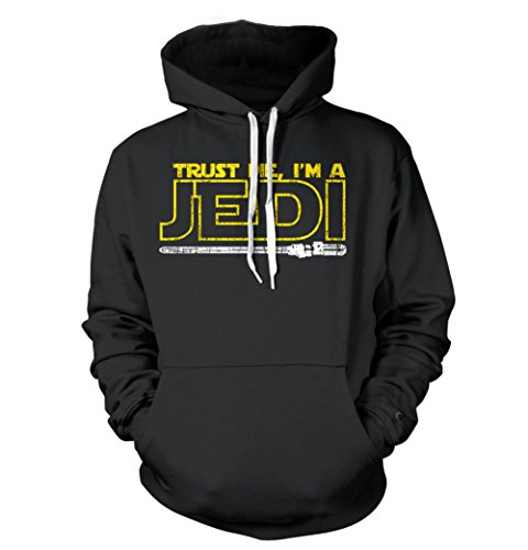 Trust Me I'm A Jedi HOODIE Funny Star Knight Inspired TEE Humor Wars Yoda
