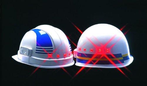 次世代の斬新なフォルムを実現 夜間安全ヘルメット