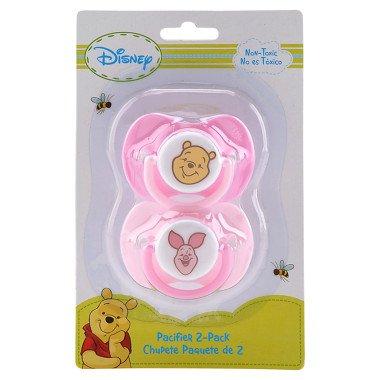 Disney Baby Pacifier 2 Pack Winnie the Pooh - Girls