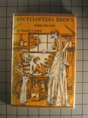 Encyclopedia Brown Takes the Case (Encyclopedia Brown), DONALD J. SOBOL