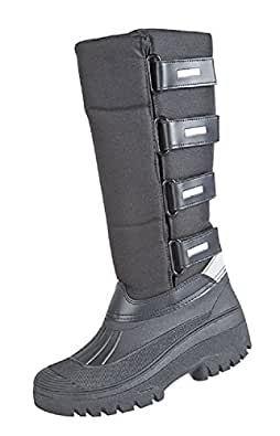 Ladies Fleece Winter Tall Snow Boot