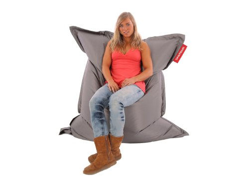Beachbum Giant Outdoor/ Indoor Bean Bag - Grey