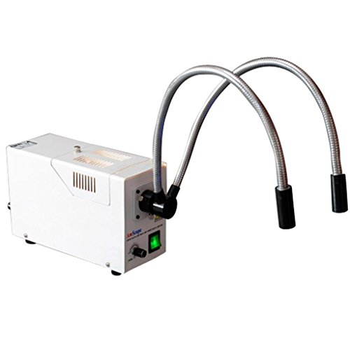 Generic Gooseneck Fiber Optic Microscope Illuminator With Color Filters