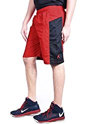 Repugn's Exactor07 Polyester shorts (Red, Small)