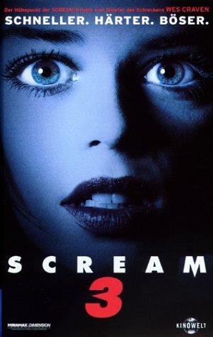 Scream 3 [VHS]
