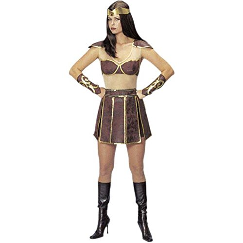 Xena Warrior Woman Super Hero Costume Set 4pc Ad Stan Fits Up To Size 10