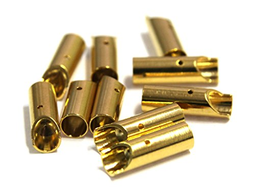 Graupner 3.5mm Gold Female Connector (10-Piece) - 1