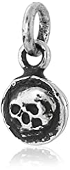 Pyrrha Skull Sterling Silver Petite C…