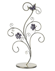 M&S Collection Floral & Butterfly Tree Mannequin Jewellery Holder