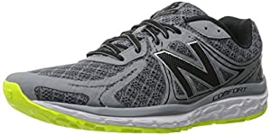 New Balance Men's 720v3 Running Shoe, Grey/Firefly, 9.5 D US
