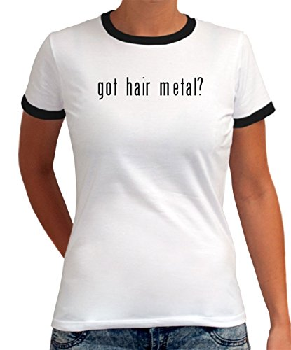 Maglietta Ringer da Donna Got Hair Metal?