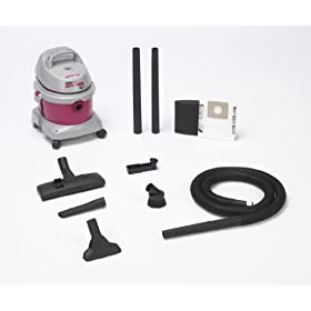 Shop-Vac 5895200 2.5-Peak Horsepower AllAround EZ Series Wet/Dry Vacuum, 2.5-Gallon
