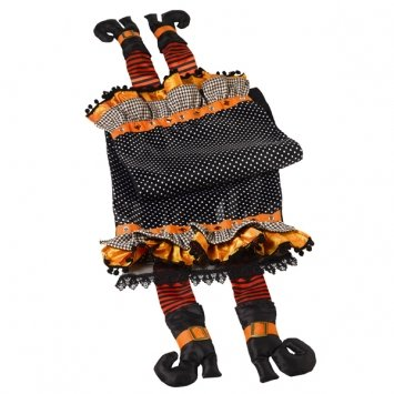 Wicked Witch Legs Table Runner