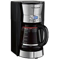 Hamilton Beach 12-Cup Programmable Coffee Maker (Black)