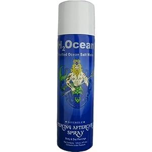 H2Ocean 1.5 FL OZ Purified Ocean Salt Water Piercing Aftercare