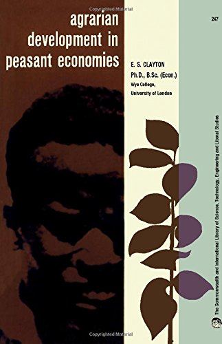 Agrarian Development in Peasant Economies: Some Lessons from Kenya (Commonwealth Library)