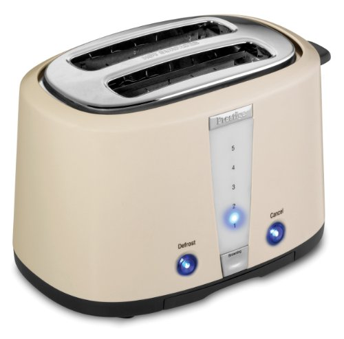 Prestige Dakota Toaster, 2 Slice, Cream by Prestige