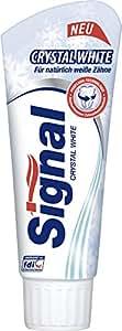 Signal Crystal White Zahncreme, 6er-Pack (6 x 75 ml)