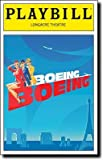 Brand New Color Playbill from Boeing-Boeing starring Gina Gershon Christine Baranski Mark Rylance Mary McCormack Kathryn Hahn