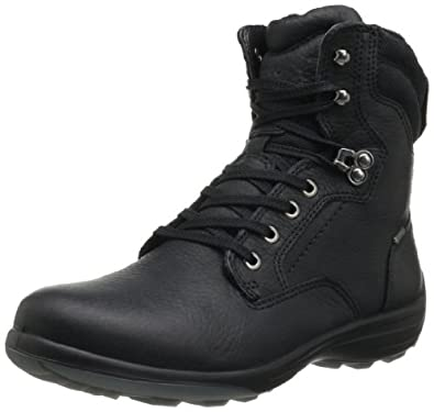 ECCO Women's Voyage GTX Plain Toe Boot,Black,35 EU/4-4.5 M US