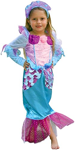 Ace Halloween Children's Kids Girls Cute Mermaid Princess Costumes