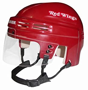 NHL Detroit Red Wings Replica Mini Hockey Helmet by Bauer