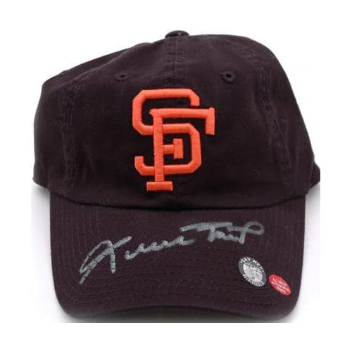 Willie Mays San Francisco Giants Autographed Baseball Hat